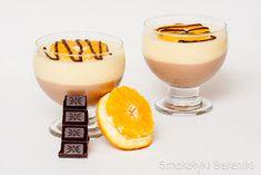 Deser z pomarańczą i czekoladą Panna Cotta, Pudding, Cookies, Cake, Ethnic Recipes, Food, Crack Crackers, Dulce De Leche, Custard Pudding