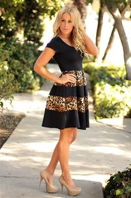 Charming Cheetah Dress