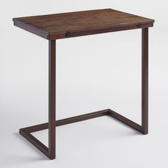 Our exclusive Oversized Wood and Metal Laptop Table is amply sized to provide space for your coffee mug, work notes… Pc Table, Couch Table, Sofa Couch, Recliner Table, Tv Tray Table, Tv Trays, Affordable Furniture, Affordable Home Decor, Cheap Furniture