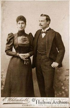 Grand Duke Ernst Ludwig & Grand Duchess Victoria Melita