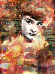 Leah Devora 'Audrey Freeway Audrey Hepburn Audrey Hepburn Pop Art ...