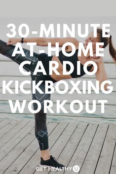Get ready for a 30-Minute Bodyweight Cardio Kickboxing HIIT Workout! Follow along as we combine cardio kickboxing drills with a HIIT style workout meant to get your heart rate up and your blood pumping! Take it outdoors or do it in the comfort of your own living room. Kickboxing Workout, Toning Workouts, Exercises, 20 Minute Hiit Workout, Cardio At Home, Workout Videos, Get Healthy, Body Weight, Sport