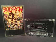 Skid Row - B-side ourselves - CASETTE - metal rock