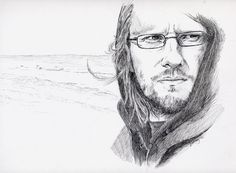 A wonderful drawing of Steven Wilson as done in pen and ink by a new friend of mine. Click the pic for the full piece and to check out more of her work. :-)