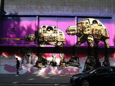 glorious geek graffiti: star wars via adactio (flickr) #geek #sci_fi #art