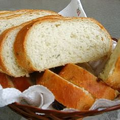 Rosemary French Bread Recipe