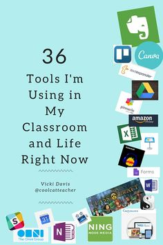 36 Edtech Tools I'm Using Right Now in My Classroom and Life @coolcatteacher