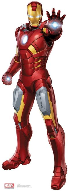 amazoncom lets party by advanced graphics avengers iron man standup everything else - Iron Man Coloring Pages Mark