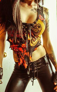 Toxic Vision Iron Maiden
