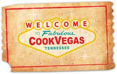 """""""Welcome to Fabulous CookVegas"""" #Cookeville #Tennessee"""