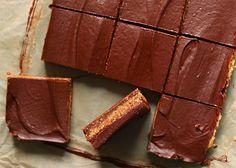 Vegan Chocolate Caramel Bar