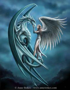 Dragons - Anne Stokes - Silverback