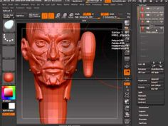 Zbrush 4R5 Topology Workflow Making a good base model for Topology ) 1 of 4