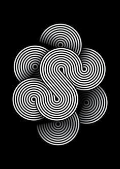 Tangles S (ligne - rond)