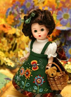 Madame Alexander by dressy doll, via Flickr