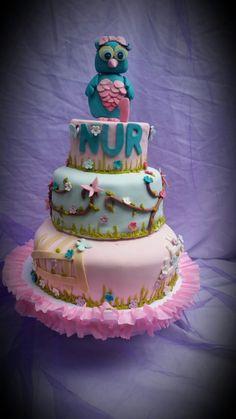 torta de buho para niña