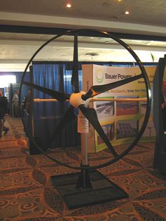 On display at the 2009 Michigan Wind Energy conference at the Cobo Arena, the Swift Wind Turbine is capable of producing Watts of power in a breeze. The turbine is built by Cascade Engineering, in Grand Rapids, MI. Cascade molds the Green Technology, Energy Technology, What Is Wind Energy, Expo Sciences, Building A Wind Turbine, Renewable Sources Of Energy, Energy Conservation, Energy Projects, Natural Energy
