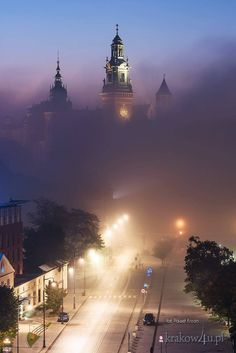 Krakow Visit Poland, Poland Travel, Krakow Poland, Winter Scenery, Most Beautiful Cities, Warsaw, Places Around The World, Places To See, Landscape Photography