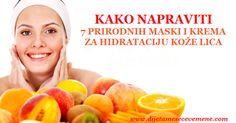 Najbolja hidratantna krema za lice | Maska za hidrataciju  KAKO NAPRAVITI 7…