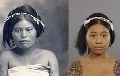 The Filipino beauty look of the 1910s. Photo: Cut.com