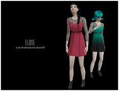 [Eloise]A Set of Dresses for AF and TF - pixelcat45