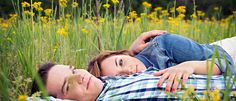 Field of Flowers | Engagements | Posing | Love | Photo Bliss Photography - Photography by Siara Martin located in Chesterfield, MO and St. Louis Missouri