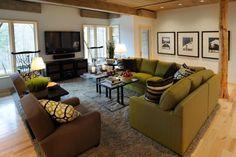 decorating ideas for the living room using furniture layout and placement of couch and chairs
