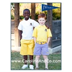 Caroline & Company: Gameday Gear for the Little Ones - Children's LSU Polo Shirts and Shorts! $36 each http://www.carolineandco.com/p-1253-jv-clothiers-lsu-childrens-shorts.aspx