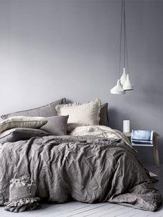 HM Home collection Cozy Bedroom, Dream Bedroom, Master Bedroom, Bedroom Decor, Bedroom Ideas, Bedroom Inspo, Bedroom Designs, Budget Bedroom, Linen Bedroom