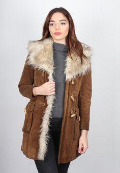 Vintage 70's Sherpa SheepSkin Coat