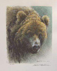 Robert Bateman Grizzly  Bear