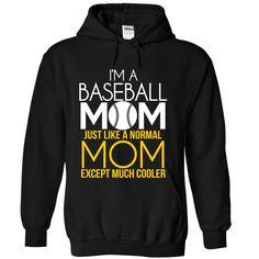 Im A Baseball Mom! T Shirt, Hoodie, Sweatshirt