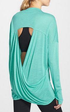 Open back drape cardigan http://rstyle.me/n/wq78vnyg6
