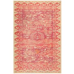 View this item and discover similar for sale at - Crafted in modern-day Romania, this antique Bessarabian kilim showcases a delicate botanical medallion with a casual de-centralized composition that functions Rugs On Carpet, Carpets, Buckingham Gate, Kilims, Repeating Patterns, Old Houses, Blush Pink, Area Rugs, Delicate