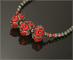 Spirala beading: Hecate Beaded Beads