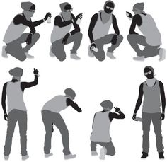 Multiple images of a man doing. Graffiti, Anime Drawings Sketches, Art Drawings, Architecture Concept Diagram, Human Poses, Figure Reference, Expressions, Portfolio, Business Card Logo