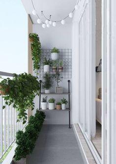 Small balcony ideas, balcony ideas apartment, cozy balcony design, outdoor balcony, balcony ideas on a budget Small Balcony Design, Small Balcony Garden, Small Balcony Decor, Balcony Plants, Outdoor Balcony, Outdoor Decor, Balcony Gardening, Balcony Railing, Small Balconies