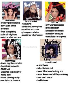 """I'm really a mix of all of them.  Maybe mostly """"Oh No!"""" and """"Shampain"""" // highkey hollywood but im also lowkey mowglis road"""