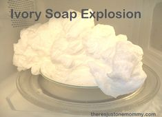Looking for a fun after school activity? This kids science experiment: Ivory Soap Explosion is one the whole family will enjoy.