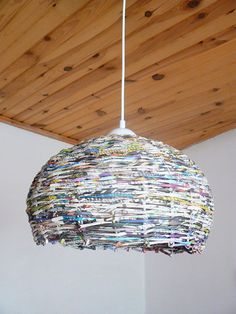 Paper Wicker  spherical lighting