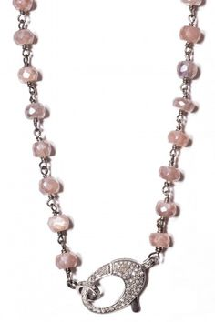 The Woods Silverite Bead Necklace, ,