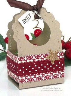 michelles card classes: Tags and gift box | http://giftsforyourbeloved10.blogspot.com
