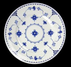 The story of Furnivals 'Blue Denmark' Pattern. Not just the designated china pattern of Family Ties!