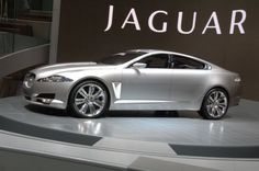 Jaguar - something streamlined, fast-moving and dangerous. Think creature, think car, think James Bond and the new Jaguar XF. Jaguar Cars, New Jaguar, Maserati, Bugatti, Jaguar Land Rover, Luxury Car Brands, Luxury Cars, Luxury Auto, Sport Cars