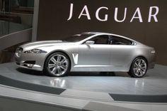 Jaguar - something streamlined, fast-moving and dangerous. Think creature, think car, think James Bond and the new Jaguar XF. Jaguar Cars, New Jaguar, Jaguar F Type, Maserati, Bugatti, Ferrari, Lamborghini Aventador, Jaguar Land Rover, Garages