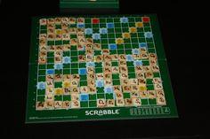 Scrabble betűk fából