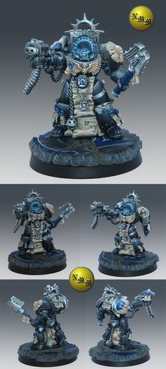CoolMiniOrNot - Ultramarine terminator Chaplain by nels0nmac
