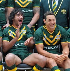 Billy Slater and Johnathan Thurston