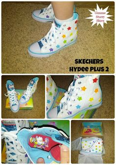 Rockin' Fashion for Kids: Gimme Starry Skies Hydee Plus 2 from SKECHERS