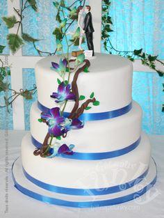 1000+ images about gateau de mariage on Pinterest  Mariage, Blue ...